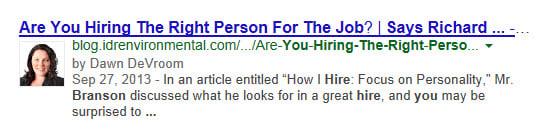 Should I use Google Authorship?