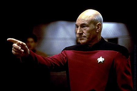 Jean Luc Picard Engage