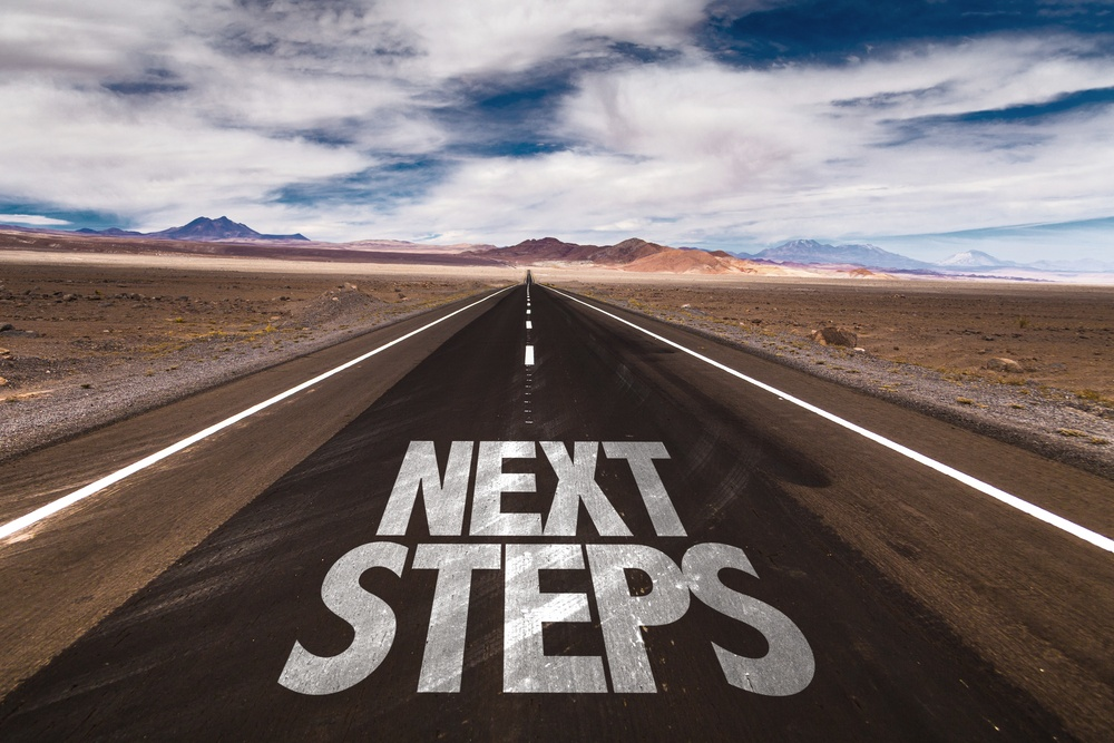 Next Steps on how to start a blog